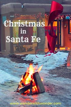 Elizabeth Rose shares 3 charming things to do in Santa Fe New Mexico at Christma… Elizabeth Rose shares 3 charming things to do in Santa Fe New Mexico at Christmas for a truly southwestern holiday experience. Mexico Christmas, Holidays To Mexico, Santa Fe, Sante Fe New Mexico, Christmas Travel, Christmas Holiday, Christmas Decor, Ski Vacation, Vacation Places