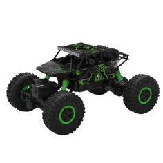 Witdeals  RCカー ラジコンバギー 4wd オフロードリモコンカー 電動オフロードバギー 四駆のラジオ バギー ラジコンオフロード  乗り越え抜群 おもちゃ ホビー レッド(グリーン)