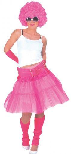 Material Girl Costume - Accessories & Makeup