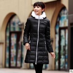 Big discount!!Free ShippingPopular Sale Winter Warm Down Jacket With A Hood Medium Long Down Coat Female Pink/Black/Yellow/Orange Fur Collar Parkas.Sale:$171.67.Packing: 90% white duck down  .Surface material: 100% polyester  .In material: 100% polyester  .Bravery material: 100% polyester  .Collar type: hooded collar.Waiting for you