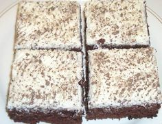paholaisen piirakka (makunautintoja mimmin keittiöstä) Sweet Recipes, Cake Recipes, Finnish Recipes, Cake Bars, Sweet Pastries, Chocolate Pies, Sweet And Salty, Healthy Treats, Vegan Desserts