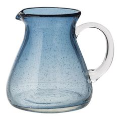 LOVE this blown glass pitcher. I'm sort of obsessed with pitchers.