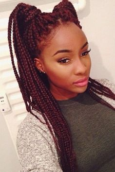 how-to-style-box-braids-50-stunning-ideas-from-pinterest-625105_w650.jpg (650×975)