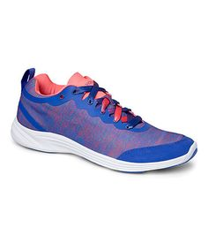 Cobalt Fyn Stretch Walking Shoe - Women by Vionic with Orthaheel Technology #zulily #zulilyfinds