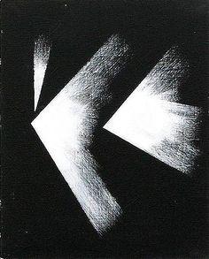 Tymek Jezierski, bez tytułu, z serii Abstrakcje na płótnie