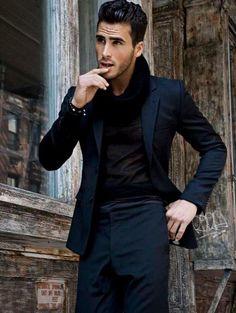 black on black groom