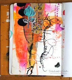 Art Journal Play Series: Random by Design with Dina Wakley | shurkus.com