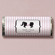 Sweet Silhouettes Nut Free Gourmet Milk Chocolate Bar