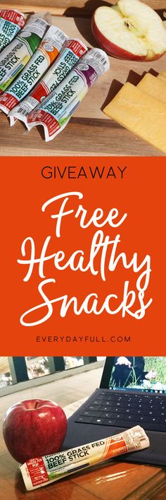 $100 Giveaway of 100% Grass-Fed Beef Sticks - These make the perfect grab-and-go snack, are gluten-free, soy-free, dairy-free, contain no GMO's or fillers, and are naturally fermented which means they contain billions of gut-friendly probiotics! With flavors like Garlic Summer Sausage and Jalapeno, how can you go wrong?