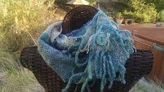 Moon Design, Fiber Art, Hair Styles, Handmade, Blue, Beauty, Hair Plait Styles, Hand Made, String Art