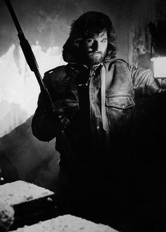 """Kurt Russell in """"The Thing"""".  Legitimately a scary movie.  I loved everything about it.  The makeup was amazing!  I miss when movies did this instead of relying on CG.  A sci if horror masterpiece!"""