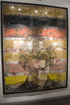 Pintura en la expo ArteBA. Una de mis favoritas