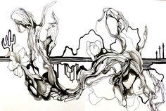 Drawing by Elodie Perrier