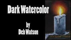 Watercolor Tip #3 - Painting Dark Watercolor Washes That Glow