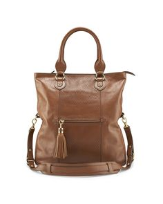 Two in One leather shopper