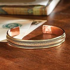 Handcrafted Himalayan Copper Bracelet - National Geographic Store
