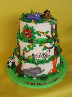 Jungle Theme Baby Shower Cakes | Recent Photos The Commons Getty Collection Galleries World Map App ...