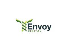 Envoy DIGITAL designed by Marian Pop. Connect with them on Dribbble; Portfolio Logo, Digital