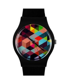 Geo pattern watch #product_design