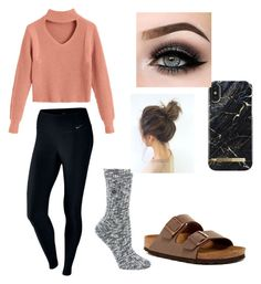 """""""Untitled #14"""" by corilmorrison on Polyvore featuring NIKE, Birkenstock and ASAP"""