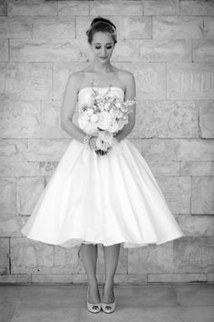 I love the simplicity and style of this dress. Something Navy, Something Borrowed, Bridal Dresses, Wedding Gowns, Wedding 2015, Wedding Ideas, White Sundress, My Dream Came True, Wedding Dress Shopping