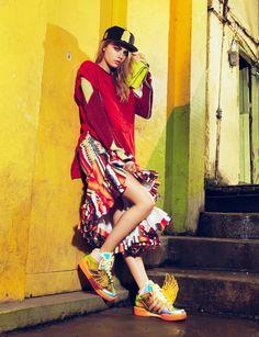 awesome Vogue Brasil Fevereiro 2014   Cara Delevingne por Jacques Dequeker [Editorial]