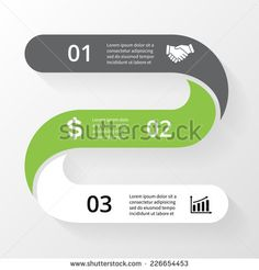 Vector infographic. Template for diagram, graph, presentation and chart. Business concept with 3 options, parts, steps or processes. Abstract background.