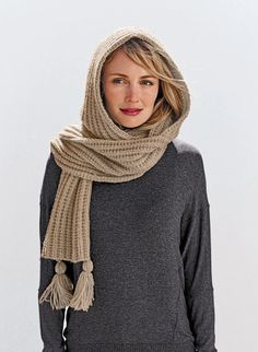 Mag. 183 - #37 Hooded scarf