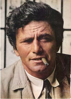 """Just one more thing..."" I loved Columbo, his crumpled mac and shambolic air. #people, #style"