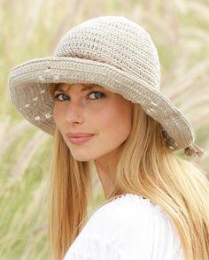 Primavera verano sombrero hecho a mano por LaBottegaDiChicco