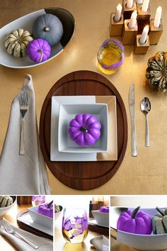 A bit of paint can turn an everyday table setting into wow.