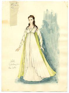 Daphne Dare - Juliet costume design