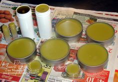 Natural Miracle Salve: The Recipe