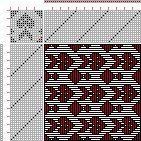 Drawdown Image: Plate 65, No. 16, Neues Build-und Muster-Buch zur Beforderung der Edlen Leinen-und Bild-Weberkunst, Johann Michael Kirschbaum, 16S, 16T