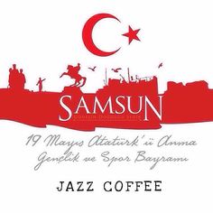 19 Mayıs Atatürk'ü Anma Gençlik ve Spor Bayramımız Kutlu Olsun!  by midyat_jazz_coffee Coffee Art, Illustrations And Posters, Diy Crafts, Wallpaper, Instagram Posts, Pictures, Ottoman, Number, Architecture