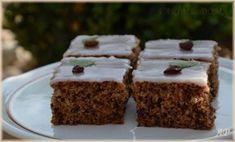 Ořechovo-cuketový koláč Love Cake, Kefir, Muffin, Food And Drink, Pudding, Healthy, Breakfast, Desserts, Recipes