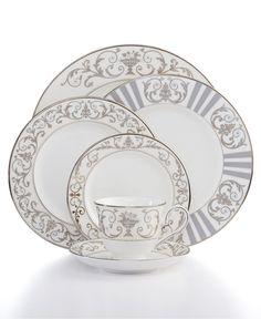 "Lenox ""Autumn Legacy"" Dinnerware Collection - Dinnerware - Dining & Entertaining - Macy's"