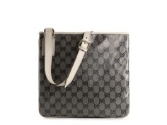 Gucci Signature Coated Fabric Messenger Bag #dsw #luxe810