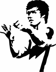 Bruce Lee Ready Stance Vinyl Decal Graphic - Choose your Color and Siz – Vinyl Ink Design