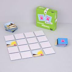 Unser Memo Spiel ist farbenfroh, konstrastreich und ideal für Kinder, Erwachsene und Senioren geeignet. Lerne die Welt von Vincend, Ben, Mila und Lina kennen. Die Figuren gibt es im Shop auch als Plüschtiere.