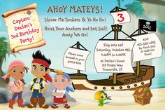 Jake and the Neverland Pirates Party Supplies | Ultimate Kids Parties