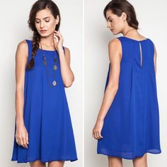 New Dignity Blue Dress New retail Dignity Blue dress. I also have it available in Peach. Available in small, medium, and large. If you bundle two or more RETAIL items receive 10% off and a FREE GIFT of a bracelet or necklace! I do not accept offers on retail products on postmark. Happy shopping and thank you for viewing my listing! Blackberry Boutique Dresses