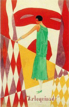 René Magritte - Advertisement for Norine, ca. 1925
