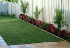gartendesign ideen 51 beautiful small backyard fence and garden design ideas for your home 1 Side Yard Landscaping, Backyard Fences, Landscaping Ideas, Garden Fencing, Garden Path, Terrace Garden, Garden Beds, Indoor Garden, Backyard Garden Design