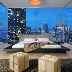 Love love love this bed I want it and the view is beautiful