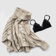 Imagine yourself wearing this beauty in autumn. #autumn #sweater