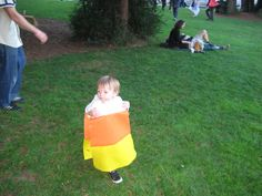 2009 Candy corn costume for our son