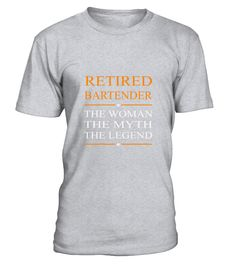 Bartender The Woman The Myth The Legend Tee T-Shirt