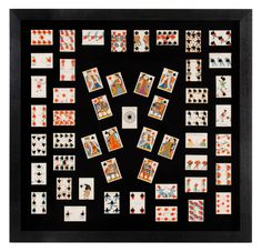 Antique Playing Cards by Tiffany