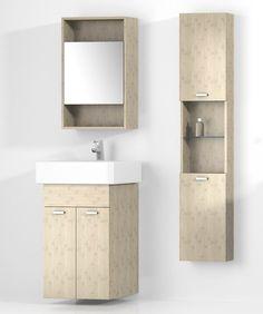 Ziemlich Bathroom Vanities mehr stauraum im badezimmer retroschrank mit glastüren | bath
